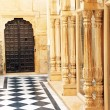 Architectural detail of Mandir Palace, Jaisalmer, India, Asia — Stock Photo