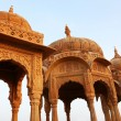 Stock Photo: BadBagh Cenotaph in Jaisalmer, Rajasthan, India