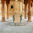 Bada Bagh Cenotaph in Jaisalmer, Rajasthan, India — Stock Photo