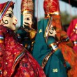 Indian dolls - Stock Photo