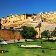 Stock Photo: Amber Fort in Jaipur, Rajasthan, India