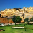 Amber fort a jaipur, rajasthan, india — Foto Stock #25844251