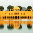Water Palace (Jal Mahal) in Man Sagar Lake. Jaipur, Rajasthan, India. 18th Century. The palace Dzhal-Mahal - Stock Photo