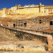 Amber Fort in Jaipur, Rajasthan, India — Stock Photo