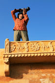 Photographer in Jaisalmer, Rajasthan, India — Stock Photo