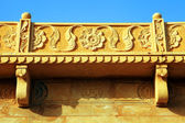 Architectural detail of Mandir Palace Museum, Jaisalmer, India, Asia — Stock Photo