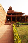 Fatehpur Sikri, India, built by the great Mughal emperor, Akbar beginning in 1570 — Stock Photo