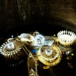 Stock Photo: TurdSalt Mine, Romania