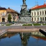 försoning arad park, Rumänien — Stockfoto