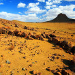 Camping in the Desert - Akakus (Acacus) Mountains, Sahara, Libya — Stock Photo