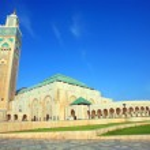 Hassan II Mosque, Casablanca, Morocco, Africa — Stock Photo #25885689