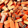 Bunch of bricks for construction — Stock Photo