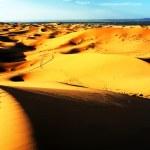 Moroccan desert dune background — Stock Photo