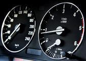 Modern car dashboard — Stock Photo