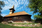 Grosii Noi wooden church, Arad, Romania — Stock Photo