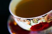 Украшенные чай Кубок — Стоковое фото
