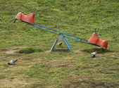 Empty playground — Stock Photo