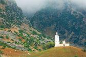 Spagnolo vecchia moschea di chefchaouen, in marocco — Foto Stock