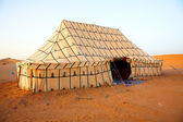 Berber tent in Sahara Desert, Africa — Stock Photo