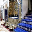 Islamic interior architectural details — Foto Stock