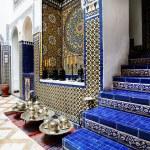 Islamic interior architectural details — Stock Photo