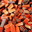 Bunch of bricks for construction — Stock Photo #25893305