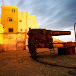 Canon in Tanger old medina, Morocco, Africa — Stock Photo