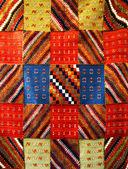 Moroccan carpet background — Stock Photo