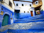 Architectural detail in Chefchaouen, Morocco, Africa — ストック写真