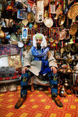 Moroccan souvenir shop — Stock Photo
