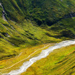 Valley in the Austrian Alps — Stock Photo
