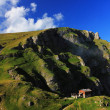 Stock Photo: Alpine landscape in Bucegi Mountains, Romania, Europe