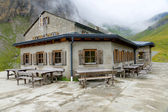 Home in the mountains of Austria — Stock Photo
