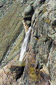 Waterfall in the Austrian Alps, Europe — Stock Photo