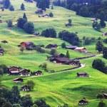 Grindelwald Village, Switzerland — Stock Photo #26002219