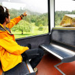 Jungfrau Bahn travel, Berner Oberland, Switzerland — Stock Photo