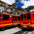 Stock Photo: Jungfrau Bahn in Eiger Gletscher Railwaystation, Switzerland