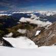 Mountain landscape, Berner Oberland — Stock Photo