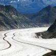 Aletsch Glacier, Berner Oberland, Switzerland — Stock Photo #26003583