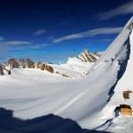 Snowy Mountain — Stock Photo