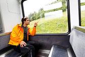 Jungfrau Bahn travel, Berner Oberland, Switzerland — Stock Photo