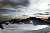 Mountain landscape, Berner Oberland, Switzerland - UNESCO Heritage — Stock Photo