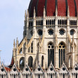 Budapest, the building of the Parliament — Stock Photo #26050225