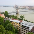 Danube in Budapest, Hungary, Europe - Stock Photo