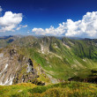 Cloudy landscape in the Transylvanian Alps, Romania — Stock Photo
