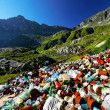 Mountain pollution — Foto Stock