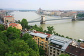 Danube in Budapest, Hungary, Europe — Stock Photo