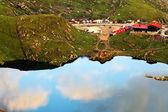Balea göl fagaras dağları, romanya — Stok fotoğraf