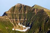 Typical mountain glacier erosion — Stock Photo