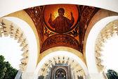 Fresco in Arges monastery, Romania — Stock Photo